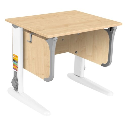 Фото - Стол детский ДЭМИ СУТ-47 60x50 см клен/серый/белый стол дэми white double сут 25 01д 120x82 см клен зеленый бежевый