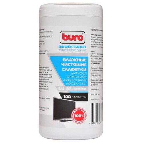Buro BU-All_screen влажные салфетки 100 шт.