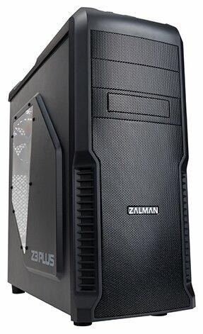 Корпус Zalman Miditower Z3 Plus Black