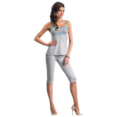 Пижама Donna размер L серый
