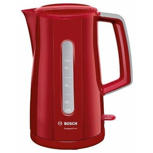 Фото - Чайник Bosch TWK 3A014, красный twk 3a014
