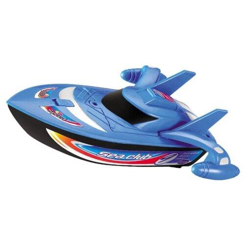 Купить Катер Mioshi Tech Прибой-X21 (MTE1205-020) 24 см синий, Радиоуправляемые игрушки