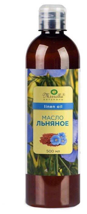 Биологически активная добавка Мирролла Масло Льняное пищевое 100 мл