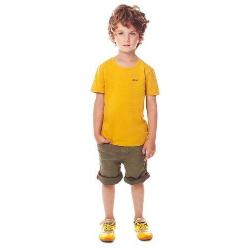 Купить Футболка BUONUMARE размер 86-94, горчичный, Футболки и рубашки