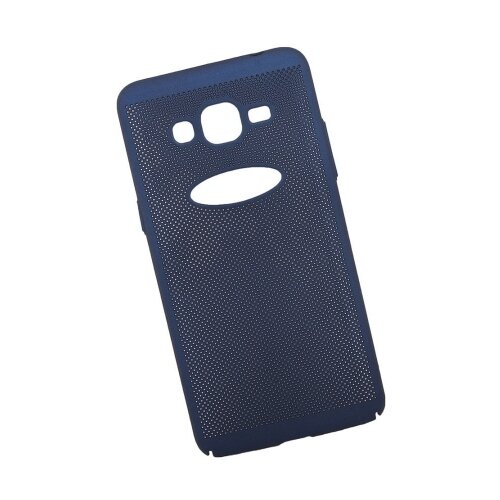 Чехол Liberty Project Сетка Soft Touch для Samsung J2 Prime темно-синийЧехлы<br>