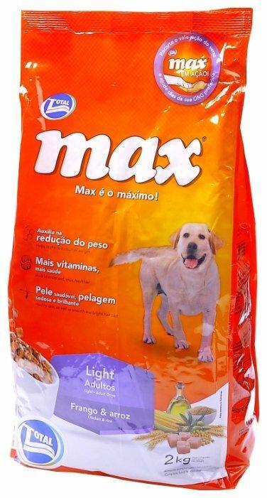 Корм для собак Total Max Light Adult с курицей и рисом для собак