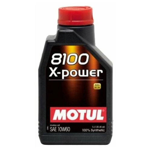 цена на Моторное масло Motul 8100 X-Power 10W60 1 л