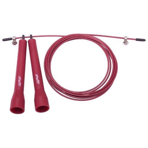 цена на Скоростная скакалка с подшипником Starfit RP-202 бордовый 300 см