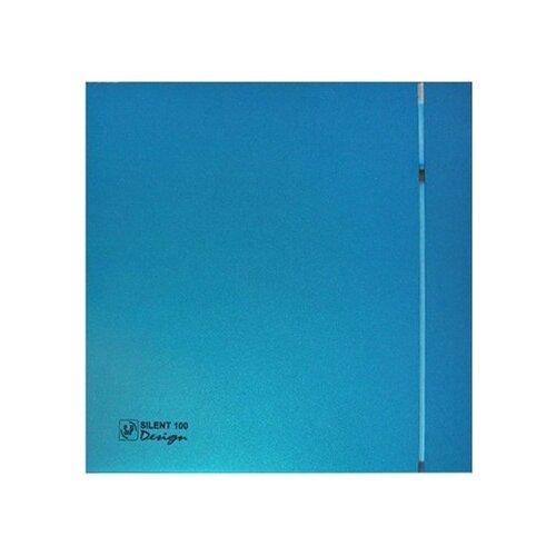Вытяжной вентилятор Soler & Palau SILENT-100 CZ DESIGN 4C, blue 8 Вт цена 2017
