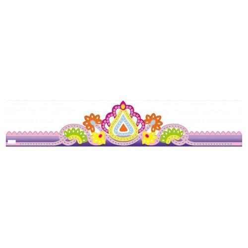 Color Kit Мозаика - стикеры Корона фиолетовая (GH001) аппликации для детей color kit мозаика стикеры познаем мир дельфины и бабочки