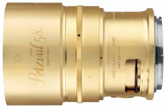 Объектив Lomography Petzval 58mm f/1.9 Art Lens Canon EF