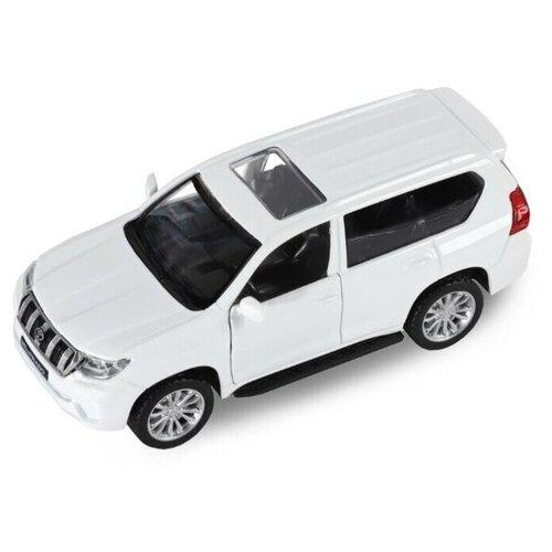 Купить Внедорожник Автопанорама Land Cruiser Prado (JB1251022/JB1251023) 1:43 11.4 см белый, Машинки и техника