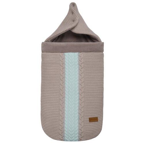 Конверт-мешок Mansita Scotty Косы 85 см мятныйКонверты и спальные мешки<br>