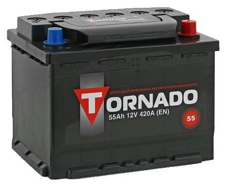 Аккумулятор Tornado 6СТ-55VLЗR