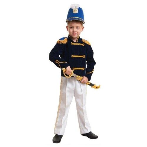 Купить Костюм Маскарад у Алисы Гусар, синий, размер 34(134), Карнавальные костюмы