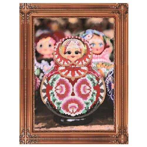 Купить Color Kit Картина из пайеток Матрешка (CME012), Картины из пайеток