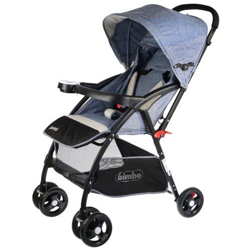 Фото - Прогулочная коляска Bimbo Jeans синий коляска прогулочная bimbo 263317 263317 серый