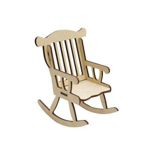 Купить Astra & Craft Деревянная заготовка для декорирования Кресло-качалка L-477 береза, Декоративные элементы и материалы