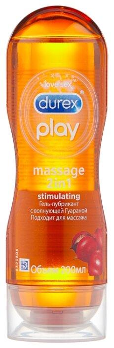 Гель-смазка Durex Play Massage 2in1 Stimulating с возбуждающей Гуараной