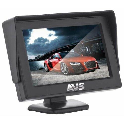 Автомобильный монитор AVS PS-801 черный