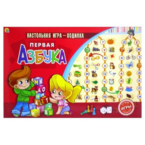 Купить Настольная игра Рыжий кот Первая азбука ИН-9933, Настольные игры