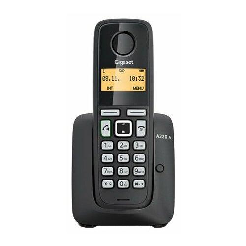 Радиотелефон Gigaset A220A черный