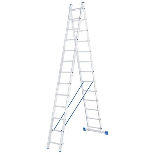 Лестница трансформер 2-секционная Сибртех 97913