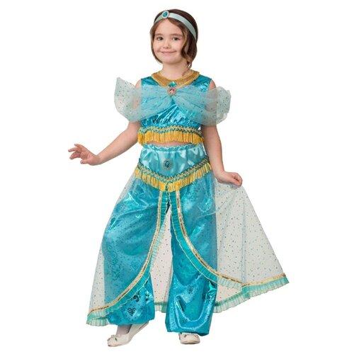 Купить Костюм Батик Принцесса Жасмин (1929), голубой, размер 140, Карнавальные костюмы