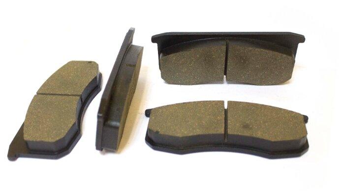 Дисковые тормозные колодки передние МАРКОН 3160-3501090 для УАЗ-3160, УАЗ-3163 (4 шт.)