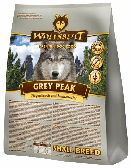 Корм для собак Wolfsblut Grey Peak Small Breed (7.5 кг)