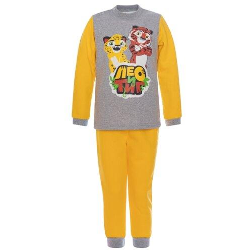 Купить Комплект одежды Утенок размер 92, желтый Лео и Тиг, Комплекты