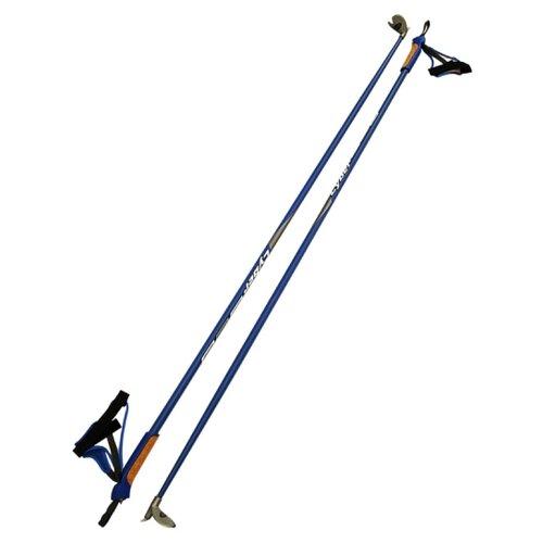 Лыжные палки STC Cyber синий cyber 140 палки tramp scout 140 trr 009