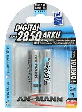 Аккумулятор Ni-Mh 2850 мА·ч ANSMANN AA Digital 2850 AKKU