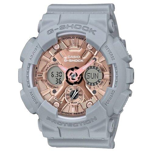 цена Наручные часы CASIO GMA-S120MF-8A онлайн в 2017 году