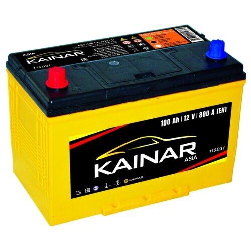 Автомобильный аккумулятор Kainar Asia 6СТ100 VL АПЗ п.п. 115D31R автомобильный аккумулятор kainar asia 6ст65 vl апз п п 88d23r