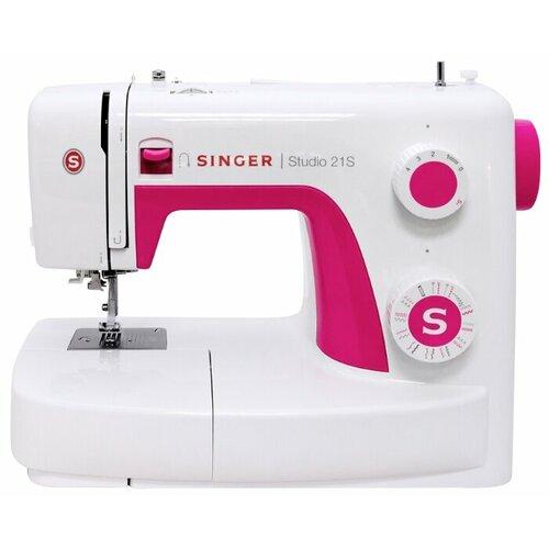 Швейная машина Singer Studio 21S, бело-розовый