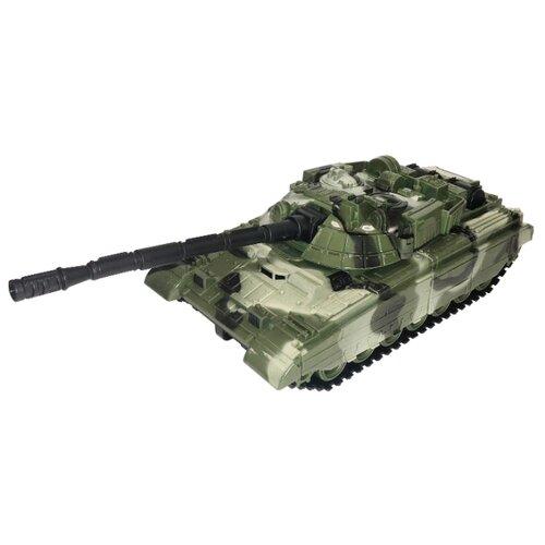 Танк Нордпласт Барс (358) зеленый камуфляж, Машинки и техника  - купить со скидкой