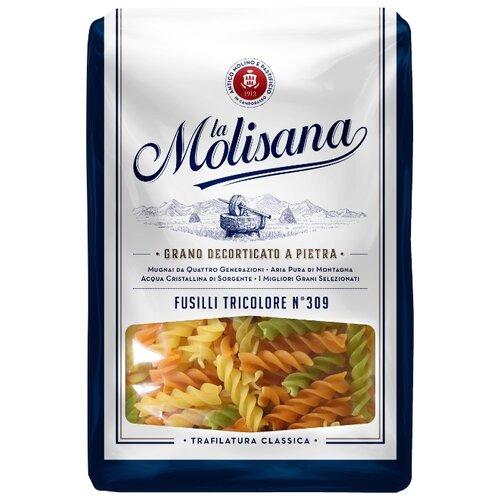 Фото - La Molisana Spa Макароны Fusilli tricolore № 309 с томатами и шпинатом, 500 г la molisana spa макароны spaghettoni 14 500 г