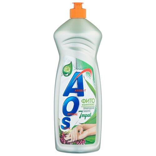 AOS Средство для мытья посуды Фитокомплекс 7 трав 0.9 кг