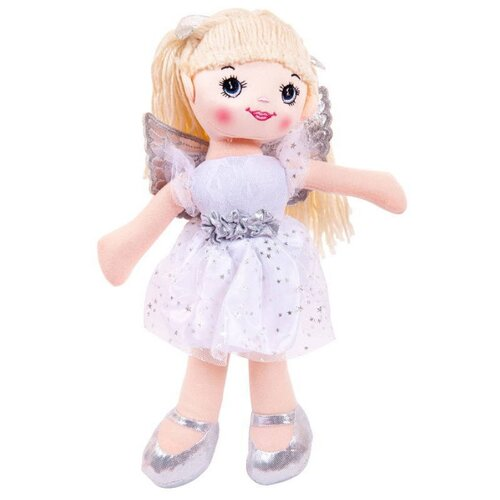 Купить Мягкая игрушка ABtoys Кукла Балерина белая 30 см, Мягкие игрушки