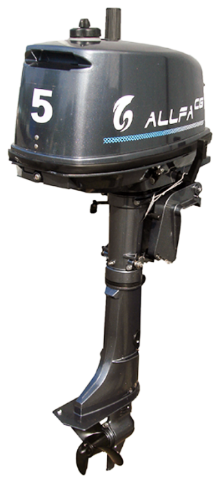 Лодочный мотор Allfa CG T5