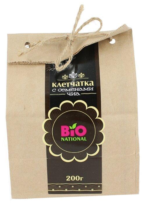Клетчатка с семенами Чиа, эко-упаковка - Bio National