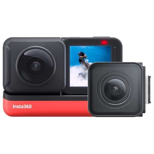 Фото - Экшн-камера Insta360 One R Twin черный/красный scee by twin set накидка
