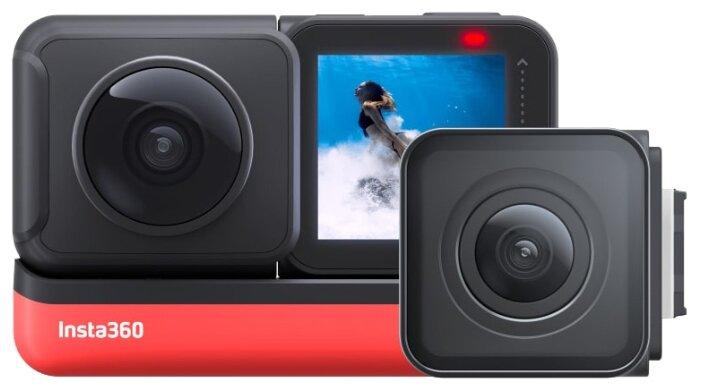 Сравнение с Экшн-камера Insta360 One R Twin