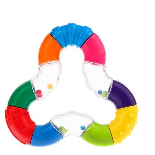 Купить Погремушка Крошка Я Зигзаг 2849246 разноцветный, Погремушки и прорезыватели
