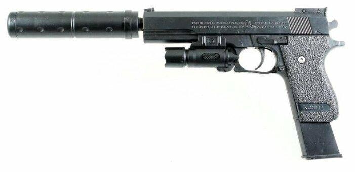 Пистолет Shantou Gepai (ES2089-K2011-B+) — купить по выгодной цене на Яндекс.Маркете