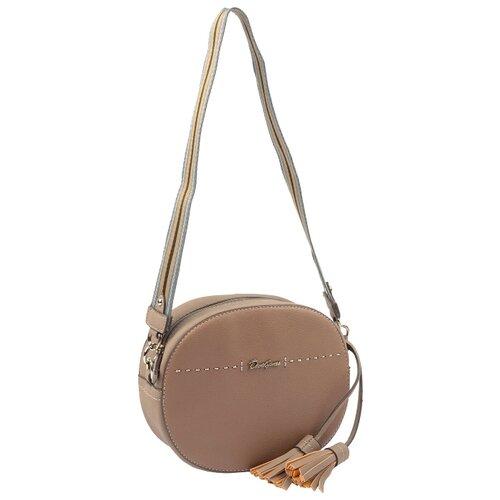 Сумка кросс-боди DAVID JONES 6128-1, искусственная кожа сумка женская david jones цвет серый 5643 1 d grey