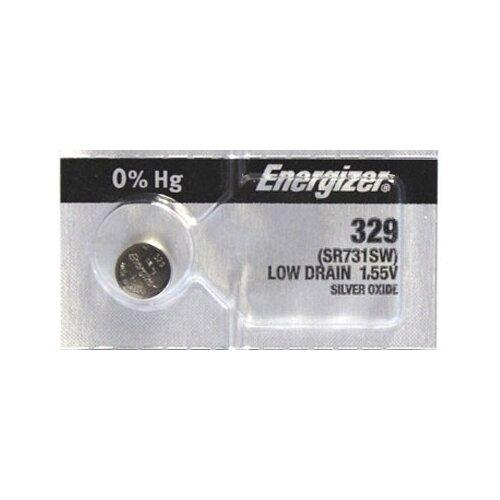 Фото - Батарейка Energizer Silver Oxide 329 (1 штука) батарейка energizer max plus aa 4 шт