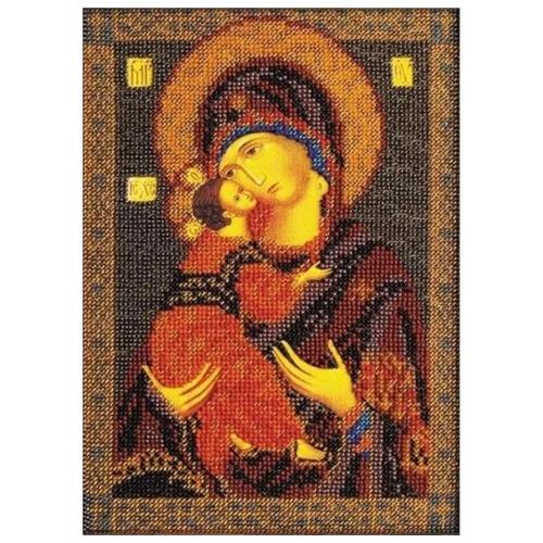 Купить Радуга бисера Набор для вышивания бисером Владимирская Богородица 18 x 25 см (В-147), Наборы для вышивания