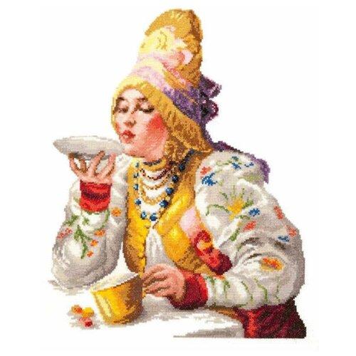Фото - Чудесная Игла Набор для вышивания Боярышня за чаем 30 х 38 см (66-01) чудесная игла набор для вышивания лебединая пара 30 х 21 см 64 01
